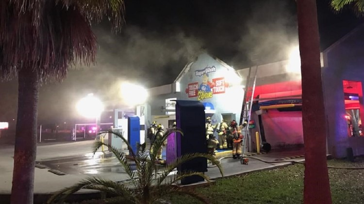 Spring Hill car wash suffers 'extensive' damage in fire