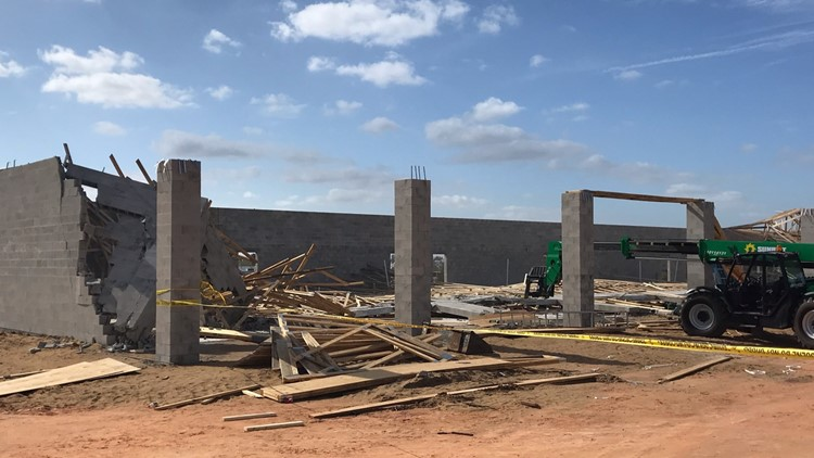 Wall collapse at construction site in Haines City kills worker
