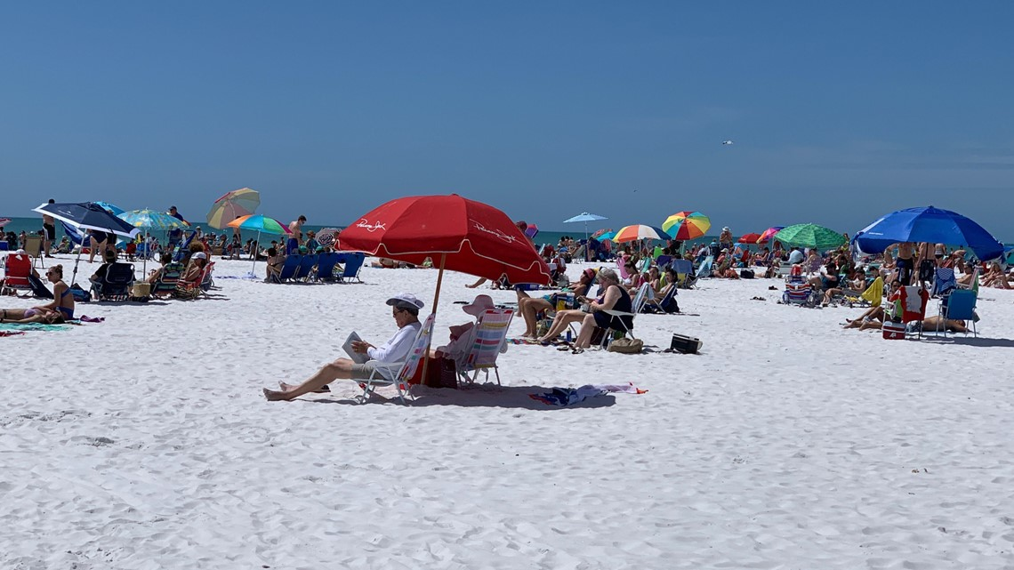 Red tide warning signs to be placed on some beaches across Sarasota County