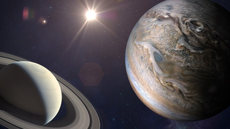 Jupiter and Saturn to form first visible 'double planet' in 800 years