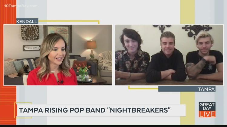 Local pop band Nightbreakers talks new single