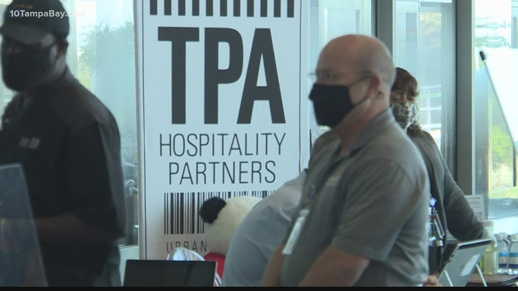 Tampa International Airport looking to hire hundreds of employees to keep up with the increase in travelers