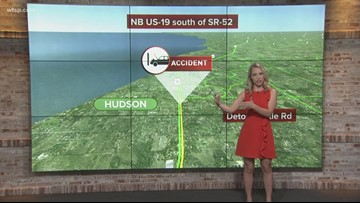 Person hit, killed on US 19 in Hudson
