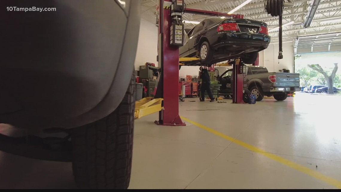AAA recommends getting your car checked before that holiday road trip