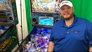 Man using his pinball passion to help fund cancer research