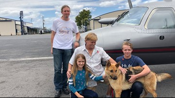 Stolen Florida dog reunited with family after almost 2 years
