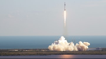 Rocket launch planned Monday night in Cape Canaveral