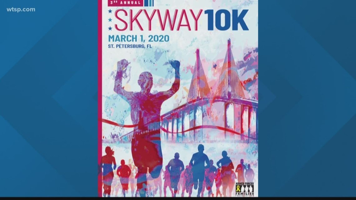 'I'm privileged to be here' | Skyway 10K poster designer talks first race