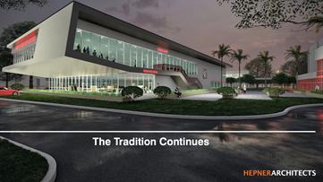 Clearwater High School unveils new school design