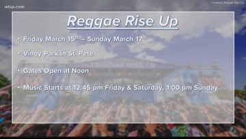 Reggae Rise Up is this weekend at Vinoy Park