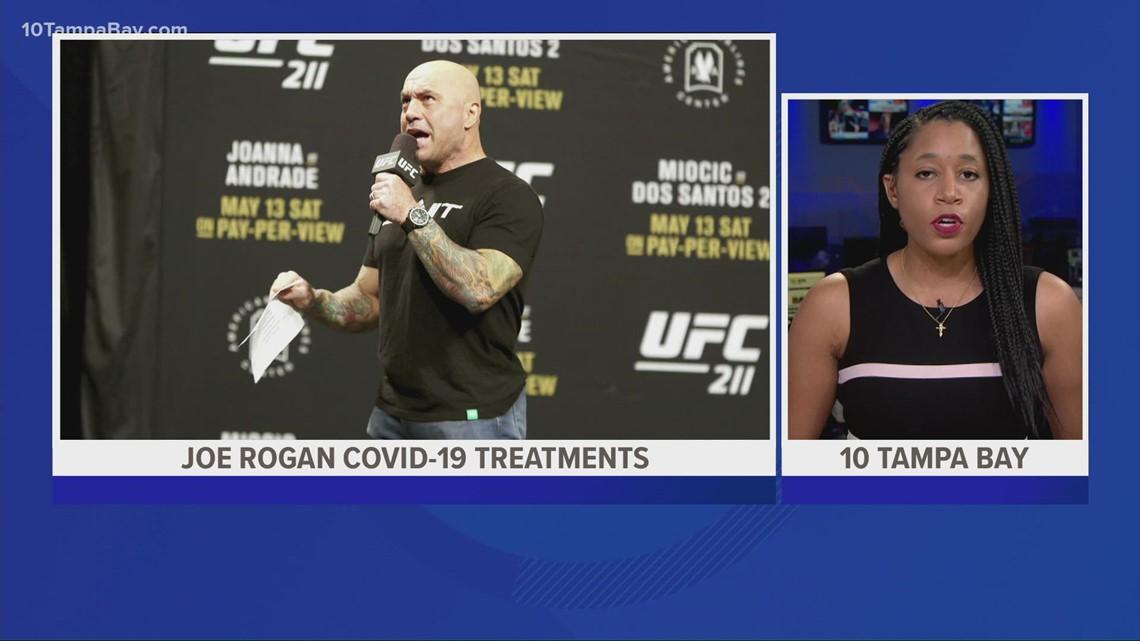 Joe Rogan shares negative COVID-19 test results