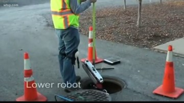 St. Petersburg wants to use robots to check for sewer leaks | 10News WTSP