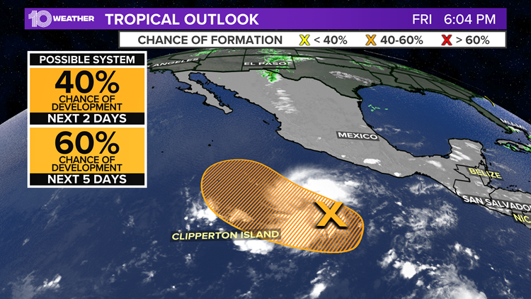 National Hurricane Center issues first tropical weather alert of the season