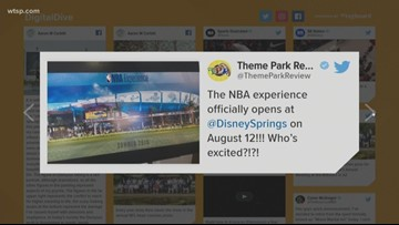 NBA Experience to open in August at Disney Springs