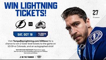 Win Tampa Bay Lightning Tickets!