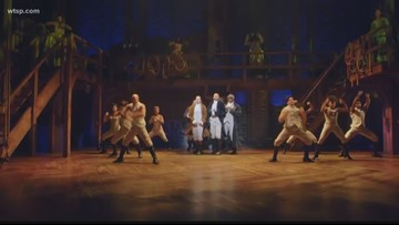 'Hamilton' arrives at Straz Center in Tampa for month-long tour stop