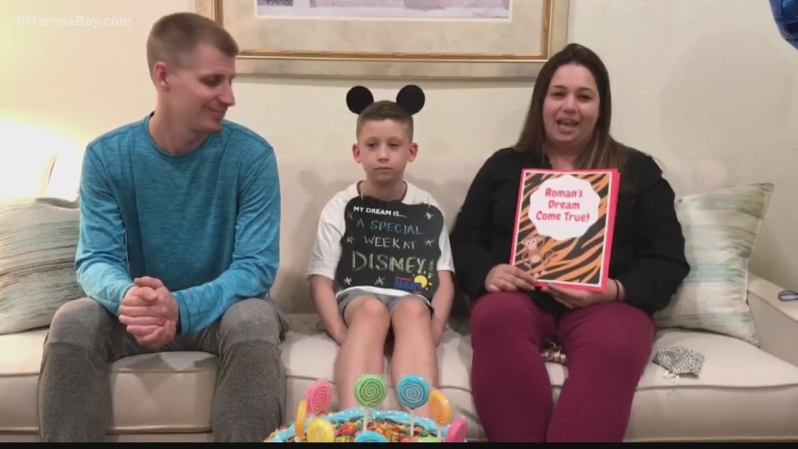 Sebring child celebrates birthday and beating cancer at Disney after two COVID postponements