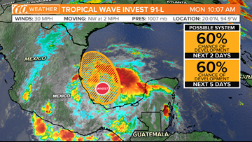 Meteorologists are tracking a system that could become a tropical cyclone