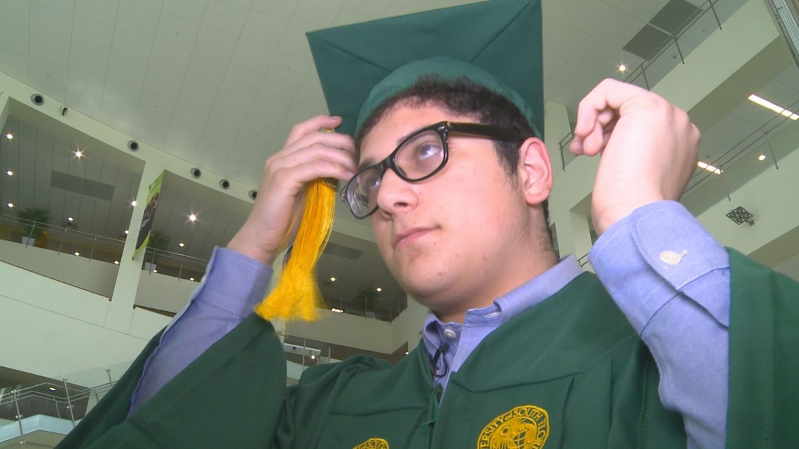 Teen becomes youngest USF graduate ever