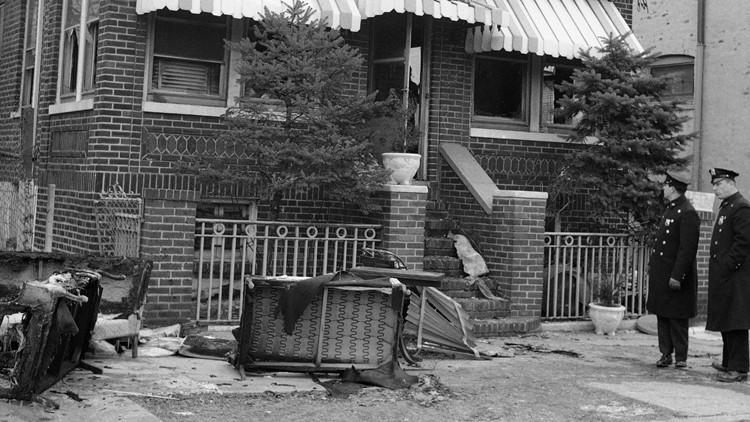 Malcolm X Home Fire 1965