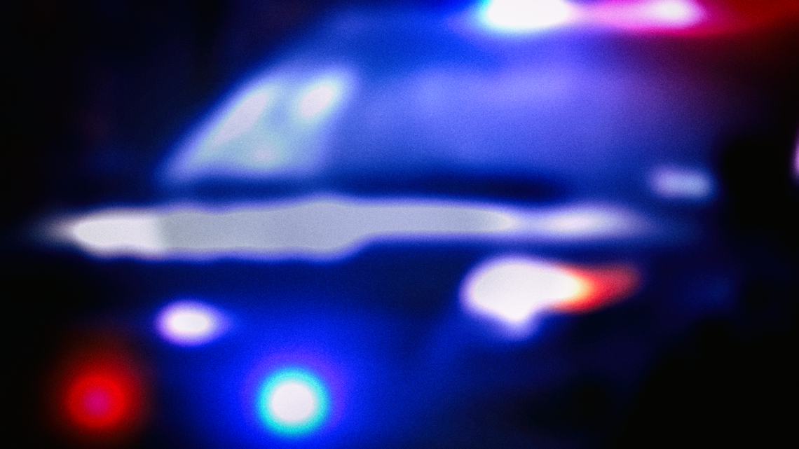 Man taken to the hospital after moped, car crash