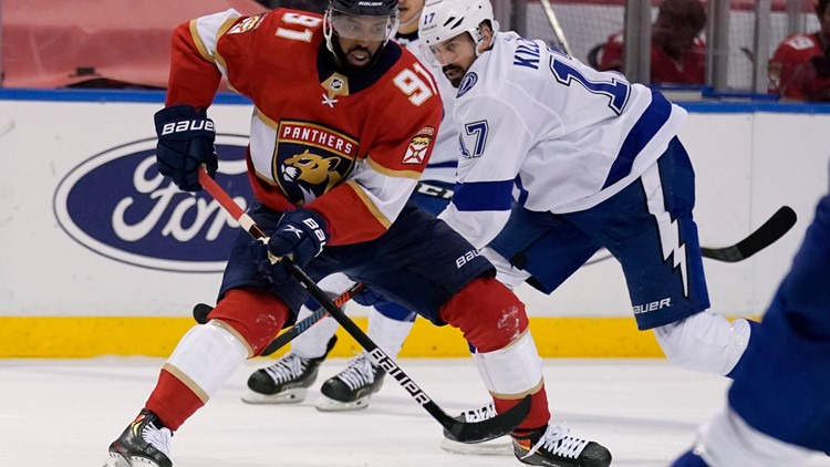 Panthers secure home-ice advantage over Lightning with 4-0 win