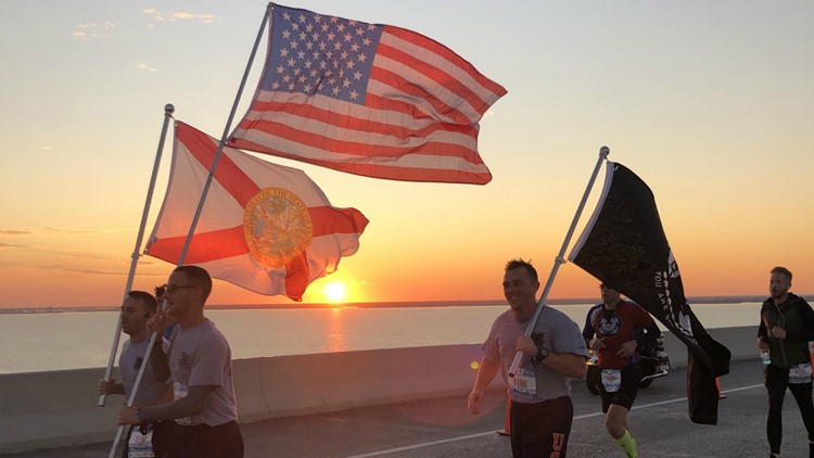 Skyway 10K: Resilience, love in the air at 3rd annual race to benefit military families