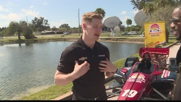 Catching up with Josef Newgarden ahead of the Firestone Grand Prix of St. Petersburg