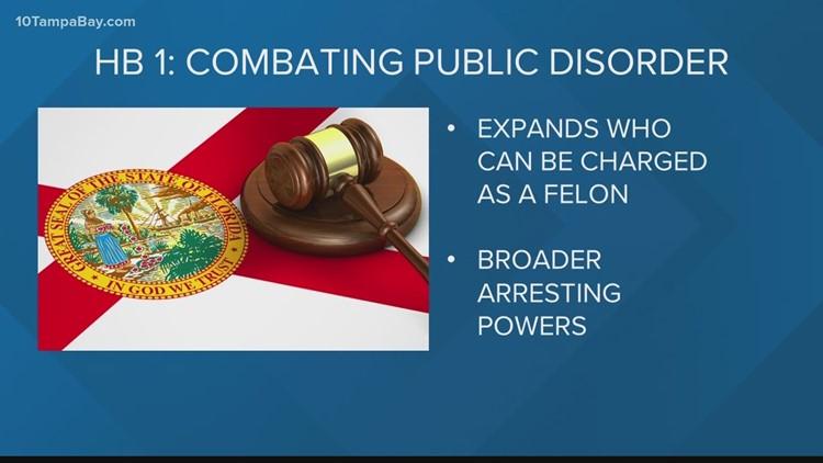 Florida House of Representatives passes 'anti-riot' bill