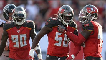 Two Bucs named AP Second Team All-Pros