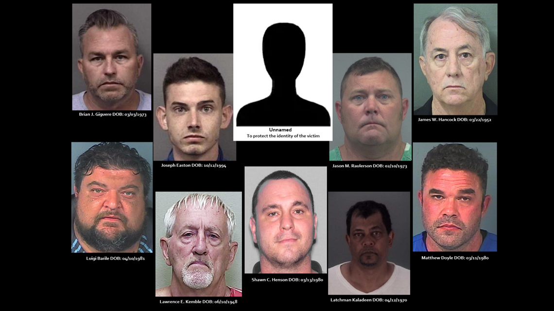 10 charged in human trafficking bust out of Hernando County | wtsp com