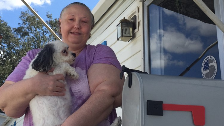 She couldn't get her mail for months. So, she turned to 10.