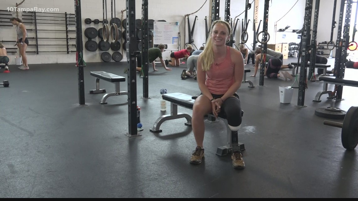 One-legged athlete has dreams to compete at CrossFit Games