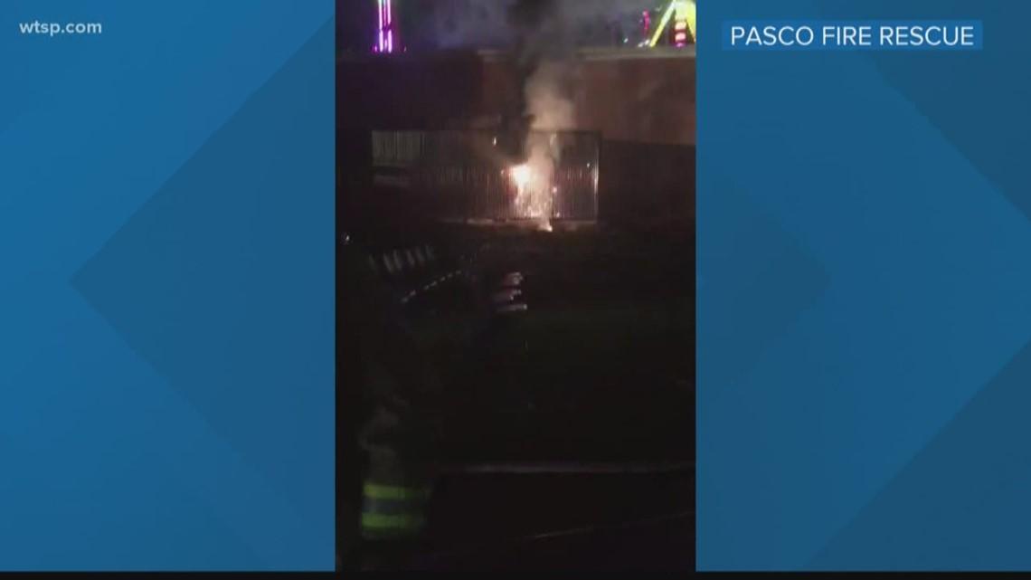 Transformer causes fire at Pasco County Fair