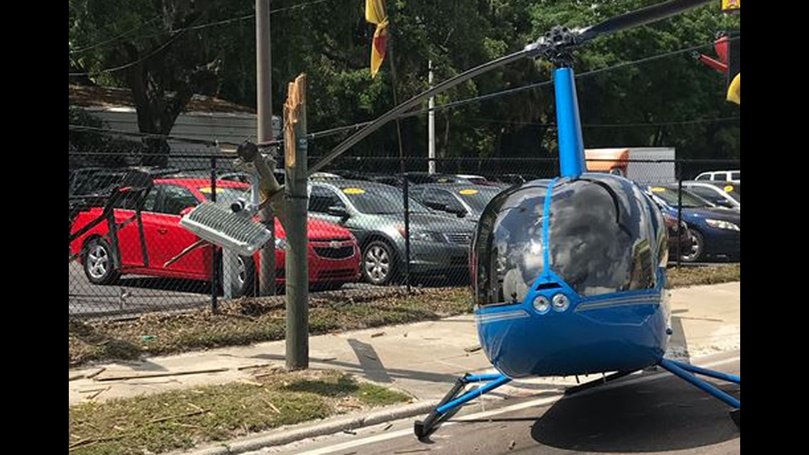 One person killed after helicopter crashes in intersection | wtsp com