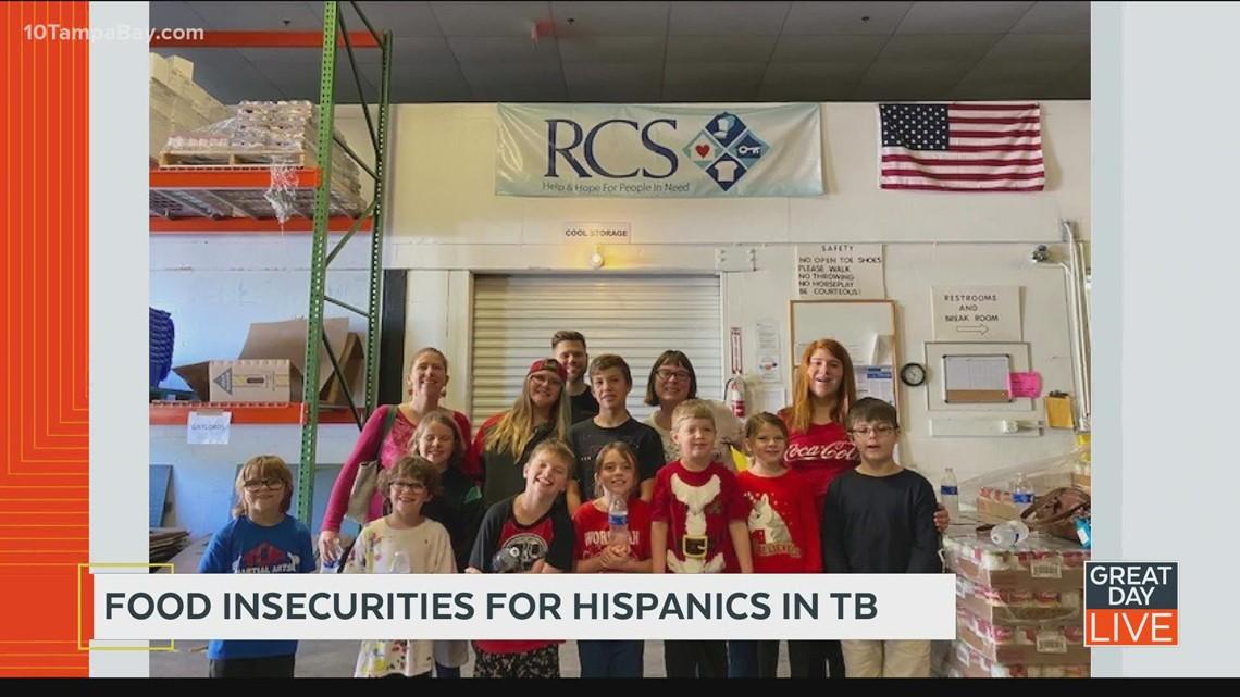 Food insecurities for Hispanics in TB