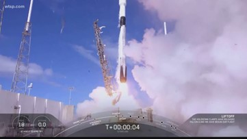 SpaceX launches new satellite on Falcon 9 rocket