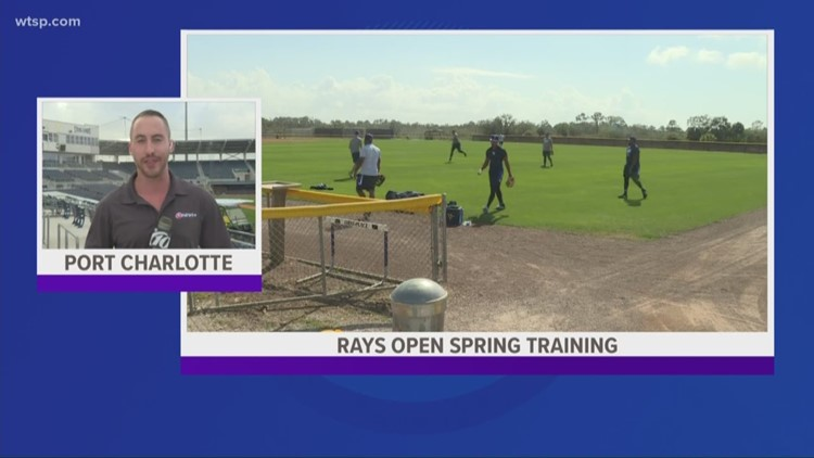 Spring Training is here: Rays report to Port Charlotte