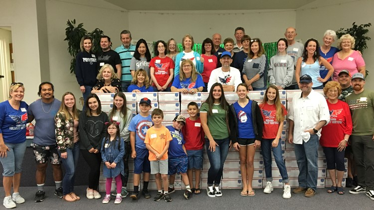 Seminole teen's military non-profit continues to grow