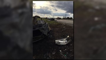 Deadly head-on wreck kills 4 people on Christmas in Highlands County