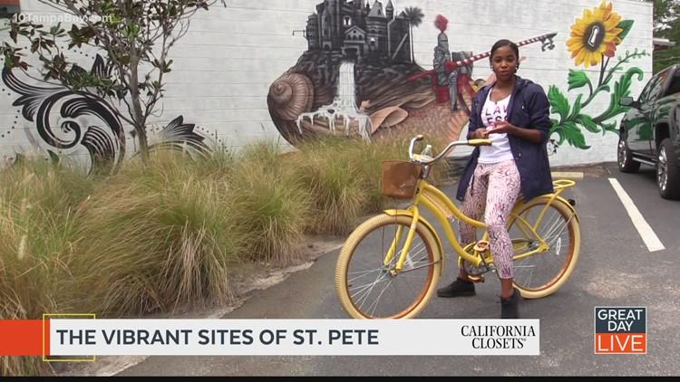 Exploring St. Pete's murals