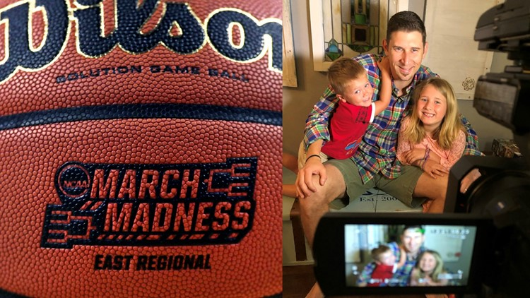 In 10News reporter Bobby Lewis' home, March Madness brackets teach life lessons