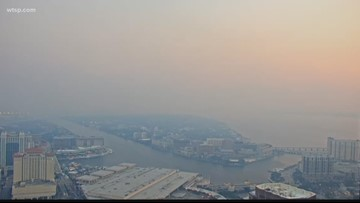 Another controlled burn could send more smoke over Tampa Bay