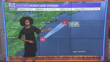 Hurricane Dorian expected to maintain 85 mph winds through Saturday