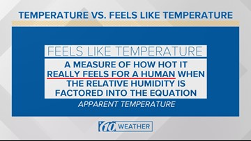 Temperature vs. Feels-like Temperature: What's the difference?
