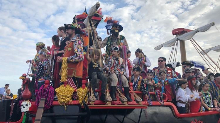 Gasparilla parades postponed to April due to COVID-19 pandemic