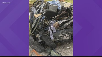 Deadly crash kills 4 people on Christmas in Highlands County