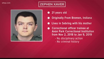 Who is Zephen Xaver, the accused Sebring bank shooter?