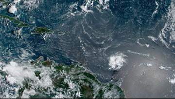 Tropical Storm Dorian continues churning toward the Caribbean islands