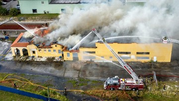 Police: 4 teens set fire to historic Florida train depot, injuring a firefighter